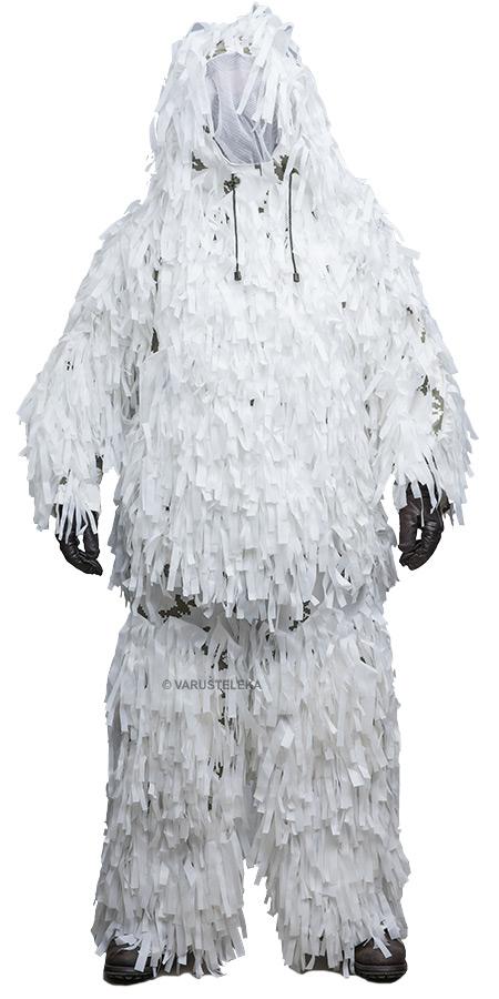 Modox ghillie suit, snow camo