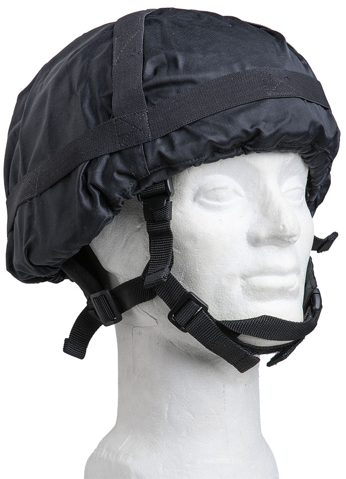 Finnish M92 helmet cover, black, surplus