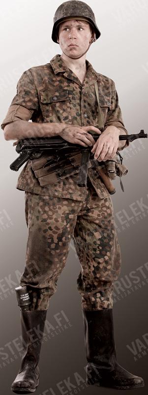 W-SS Dot44 camouflage uniform, repro, surplus, 48