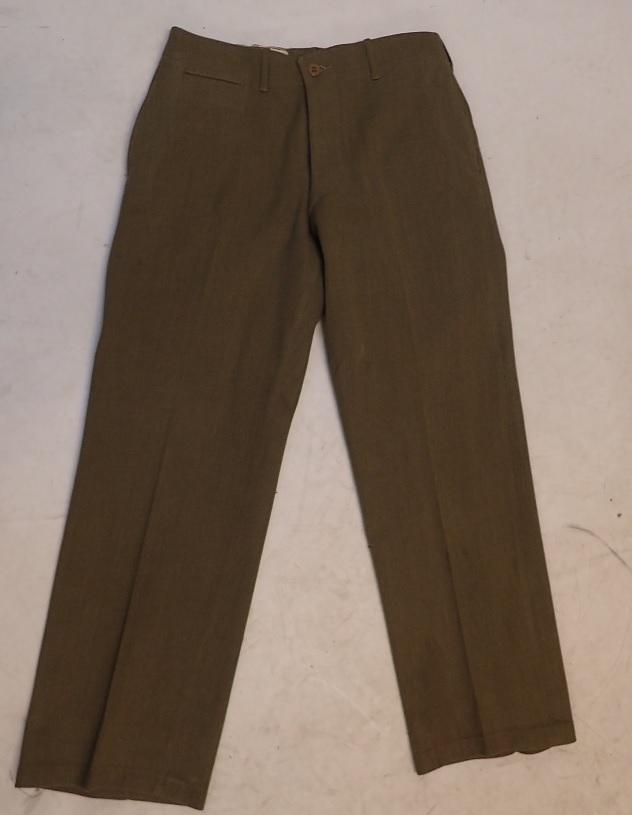 US M37 wool serge trousers #1