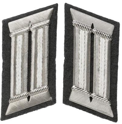 NVA officer's collar tabs, infantry, surplus