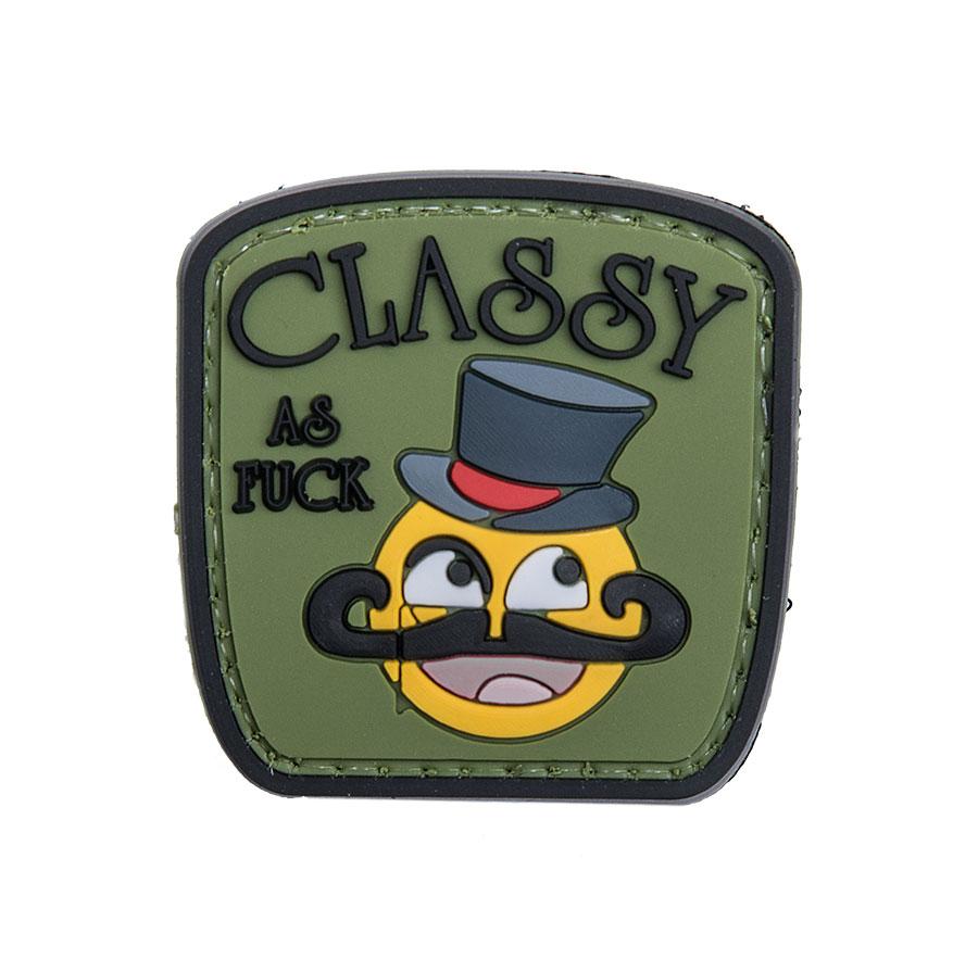 Classy AF PVC morale patch