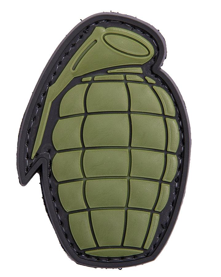 Grenade PVC morale patch