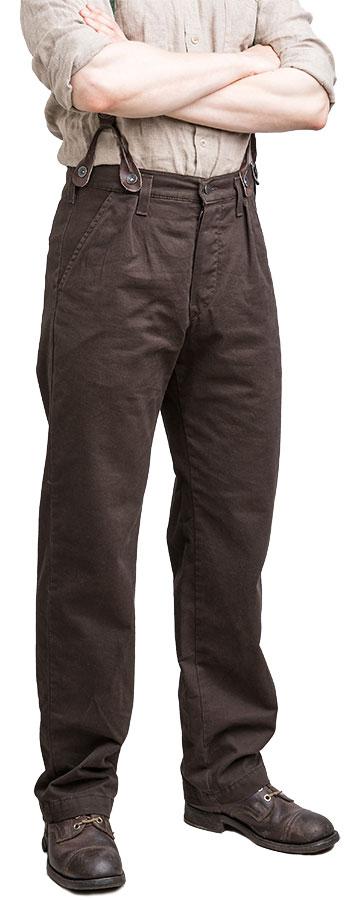 Särmä Worker Trousers, brown