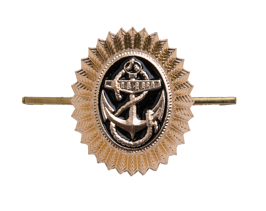 Soviet navy cockade, metal, surplus
