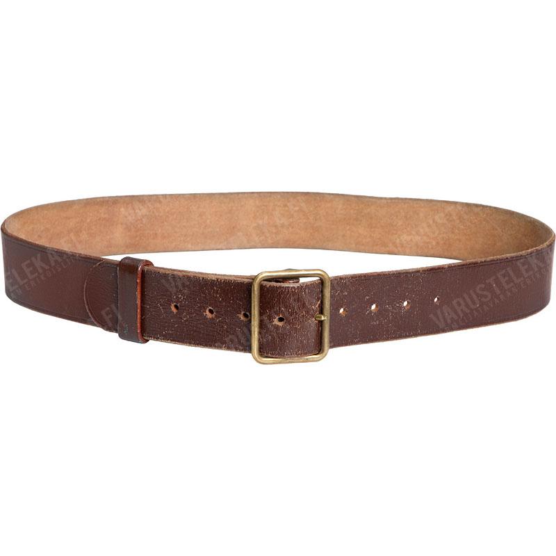 swiss leather belt used varusteleka