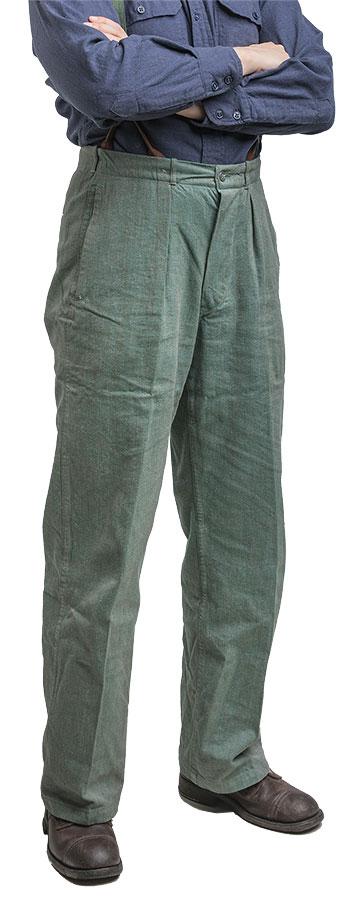 Swedish prisoner trousers, surplus