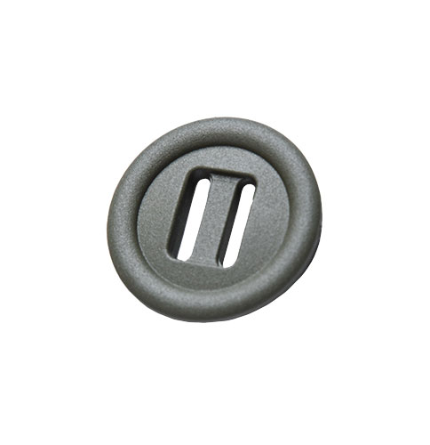 2M Slotted button, 10 pcs
