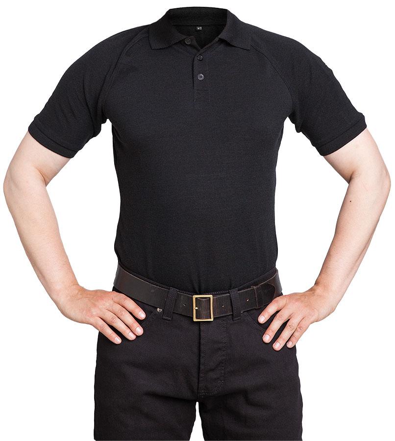 Särmä Polo Shirt, merino wool