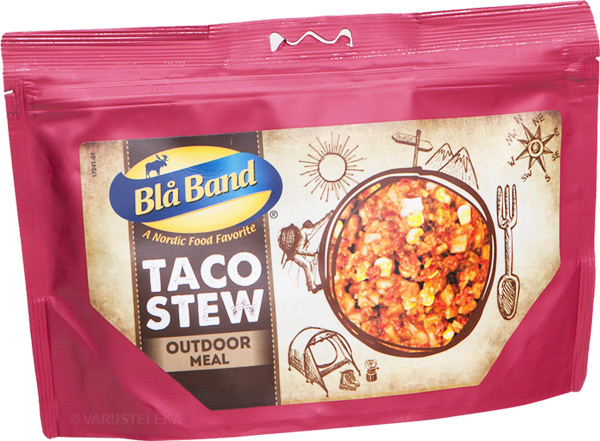 Blå Band Outdoor Meal freeze-dried food, campaign