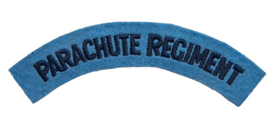 British Parachute Regiment sleeve insignia, repro