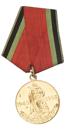 "CCCP medal, ""20 years since The Great Patriotic War"", surplus"