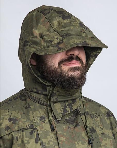 MP Field uniform hood, MP/10 camouflage