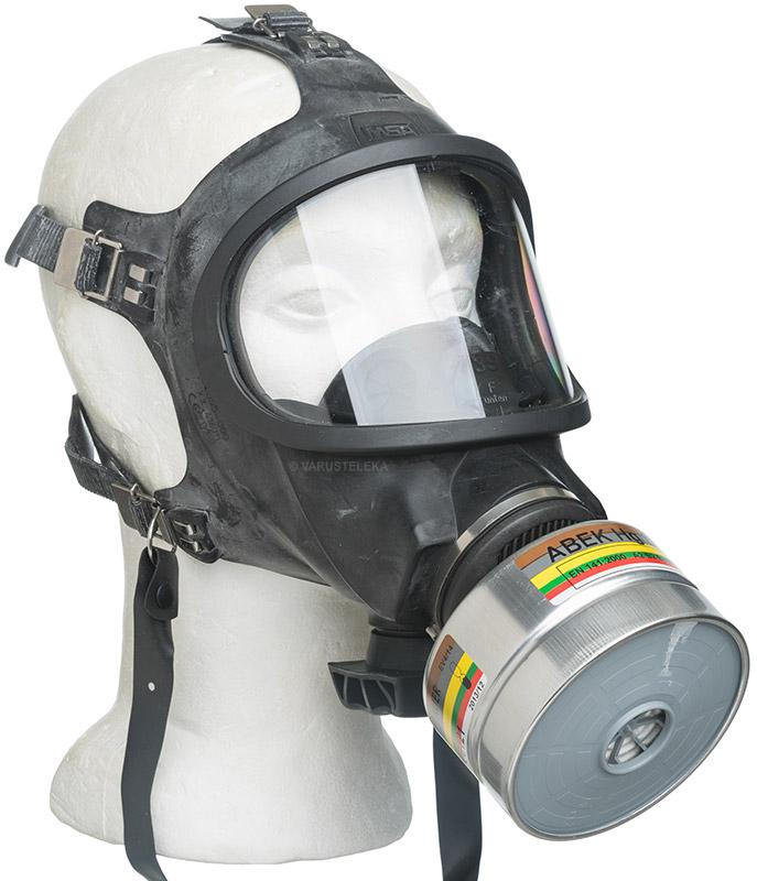 MSA Auer 3S gas mask, surplus