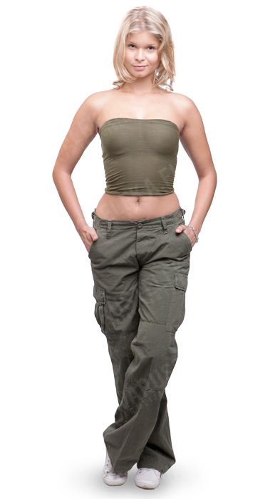 Women's BDU pants, ripstop