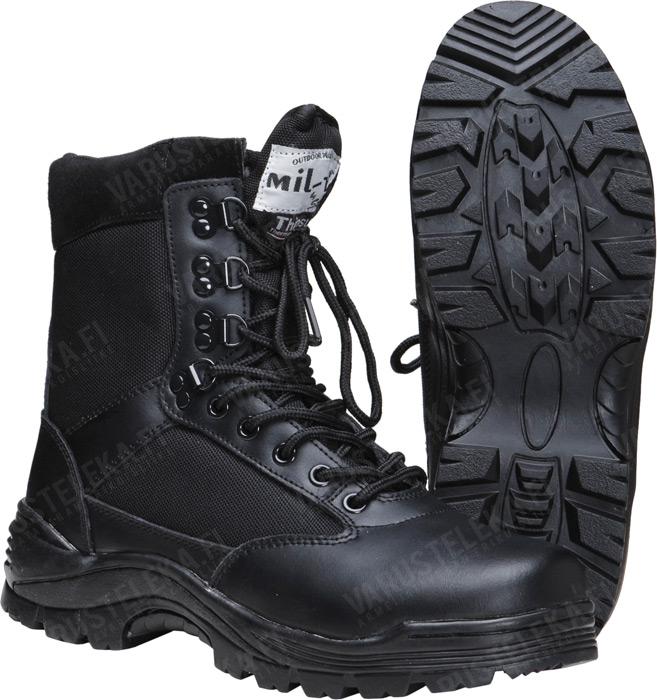 Mil-Tec boots with zipper