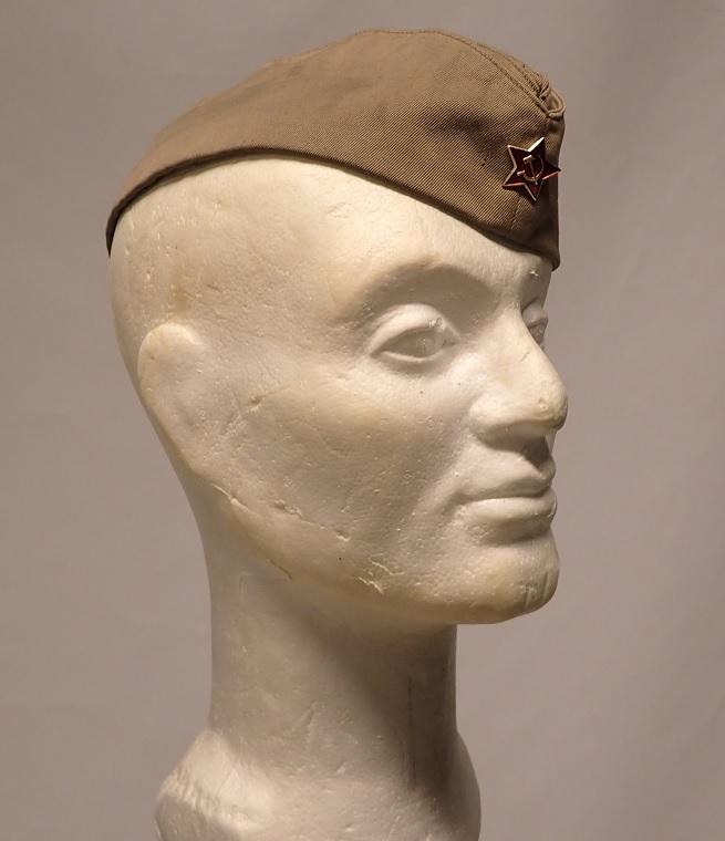 Soviet side cap, surplus