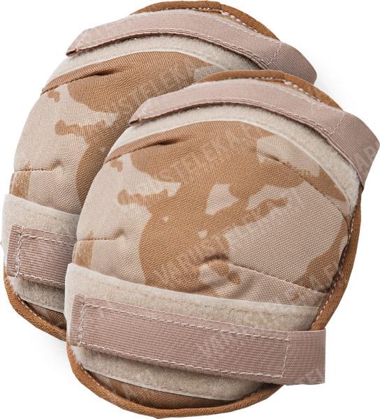 British knee/elbow pads, Desert DPM, surplus