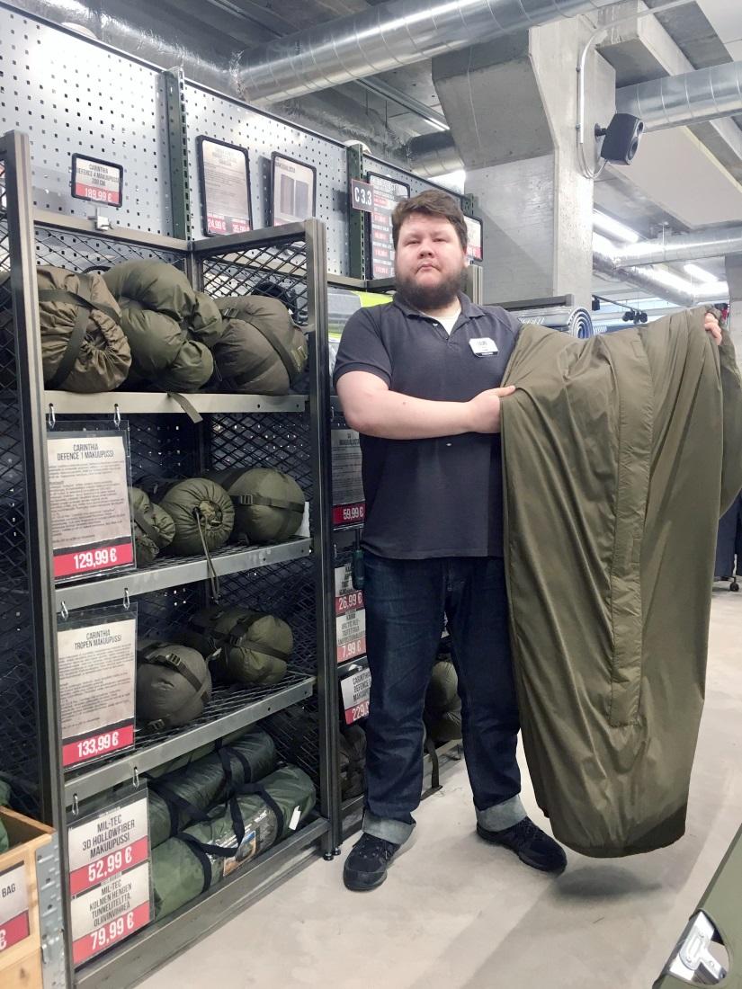 Sleeping bag size selection guide