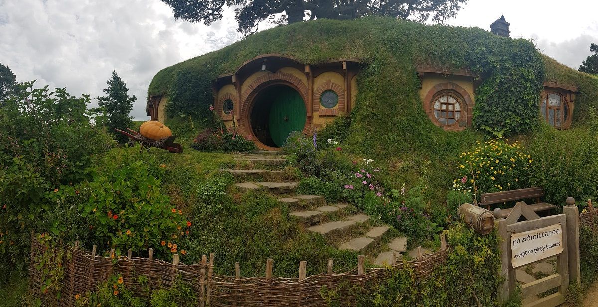 The house of the Hobbit