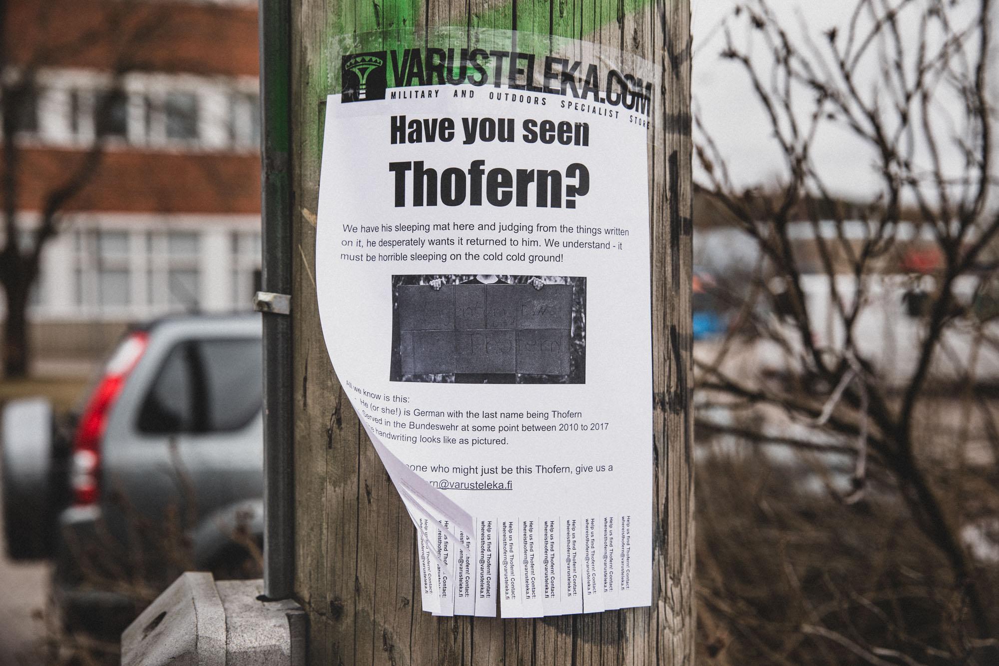 Where is Thofern?