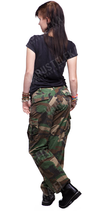 Womens BDU pants, ripstop, olive drab - Varusteleka.com