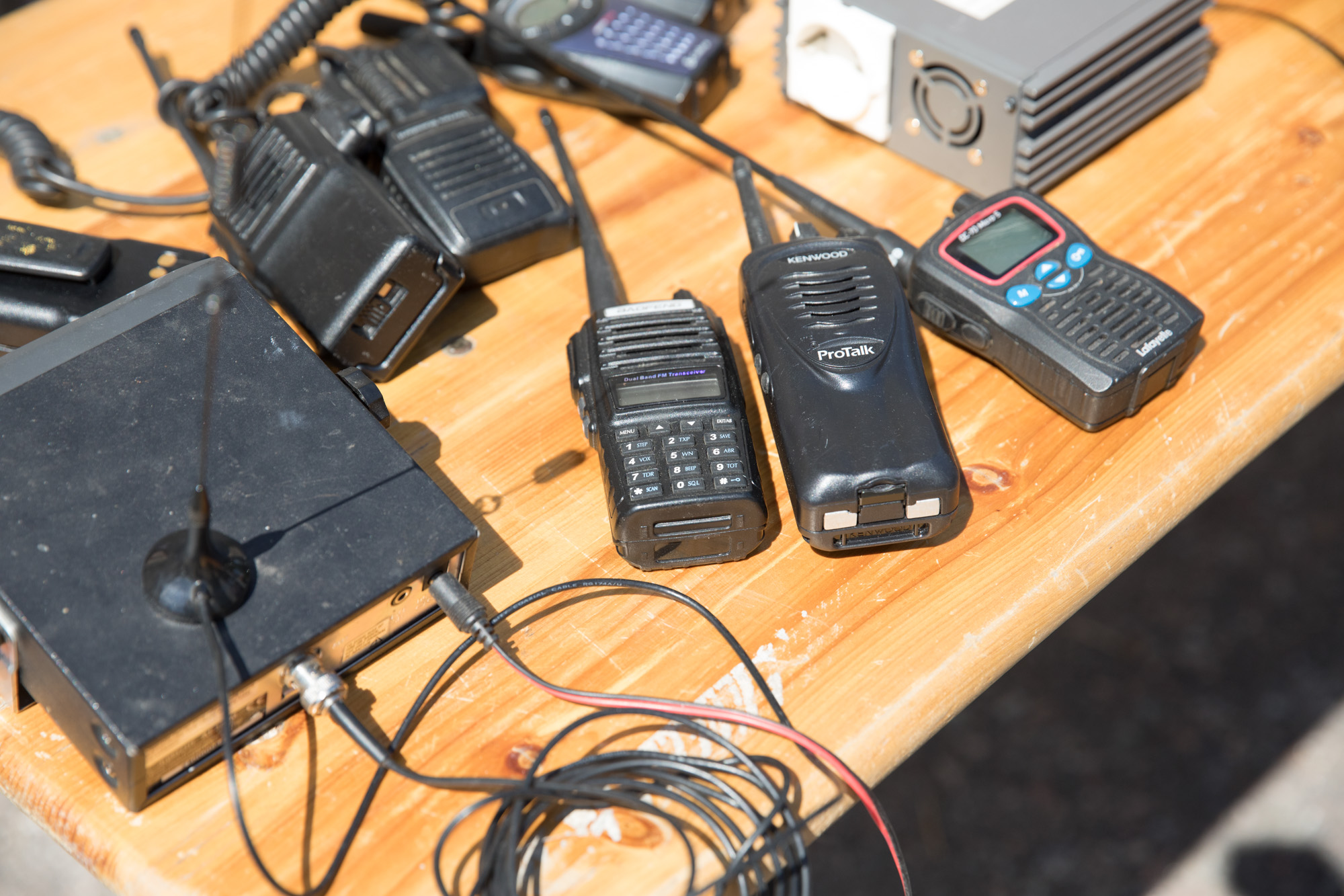 Different kinds of communications equipment