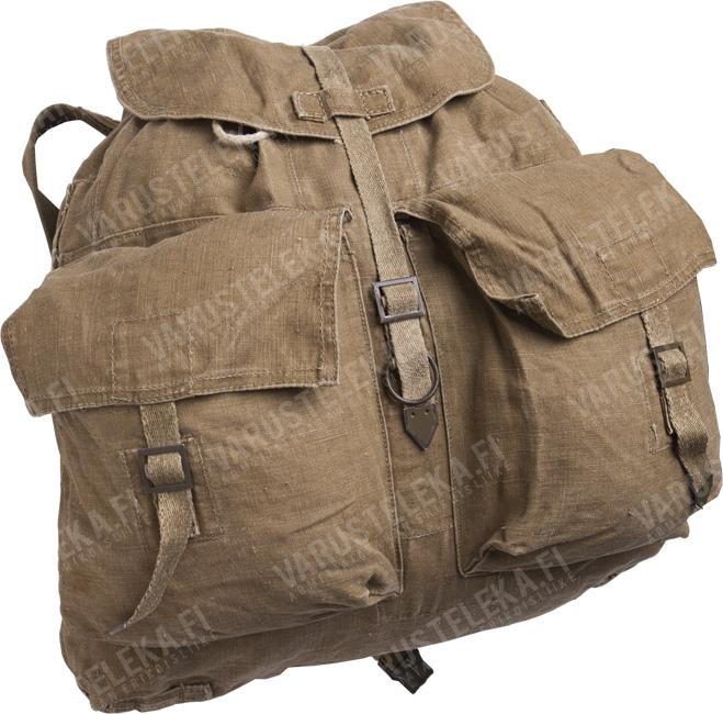 Czechoslovakian M60 backpack, w/o suspenders, brown, surplus