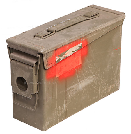 US ammunition box, .30 cal, surplus