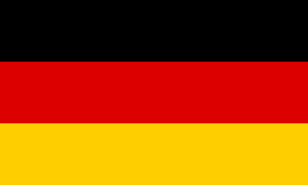Flag of Germany, 150 x 90 cm
