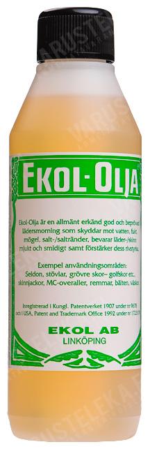 Ekol leather oil, 0,25l