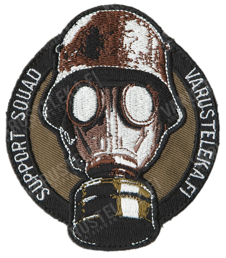 Varusteleka sleeve patch, Support Squad