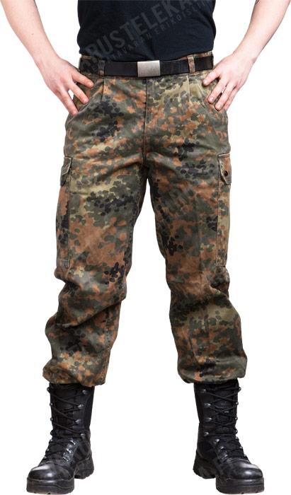 BW field trousers, Flecktarn, surplus