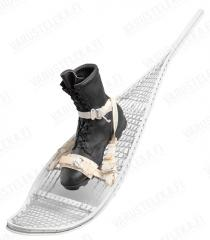 US Magnesium Snowshoes With Bindings, Surplus, Unissued.