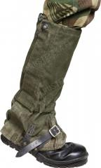 British GS gaiters, olive green, surplus