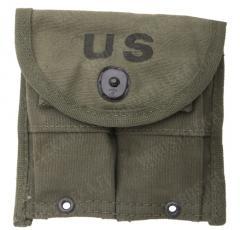 US M1 Carbine magazine pouch, olive drab, surplus