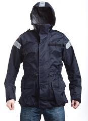 British Gore-Tex foul weather jacket, dark blue, surplus