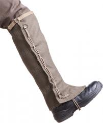 Italian gaiters, wool, long, surplus