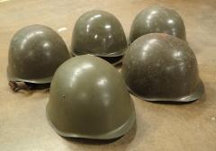 Czech M52 steel helmet, surplus.