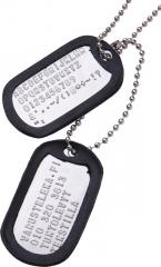 US Dog Tags, with custom text