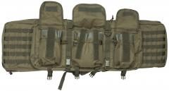 Mil-Tec gun carry bag, big. The external pouches hold their contents steady with adjustable elastic cords.