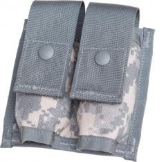 US MOLLE II double 40 mm grenade pouch, surplus