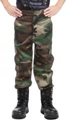 Mil-Tec kids BDU trousers, Woodland.