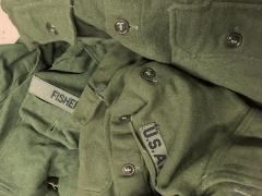 US M-1951 wool shirt, surplus