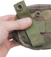 Dutch MOLLE general purpose pouch, tiny, surplus.