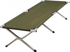 Mil-Tec Field cot, aluminium frame, 192 x 66 x 43 cm, olive drab