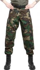 Teesar ACU trousers, ripstop, Woodland