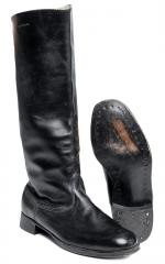 Soviet leather parade boots, surplus