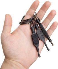 TCH Handcuff key