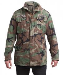 US M65 field jacket, Woodland, surplus